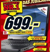 Media Markt: Acer Aspire 7730G-643G25MN Notebook für 699 EUR im Angebot und Test