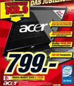 Media Markt: Acer Aspire 8730G-644G32MN Notebook für 799 EUR
