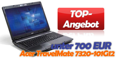 Acer TravelMate 7320-101G12 Notebook im Angebot
