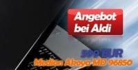 Medion Akoya MD 96850 Notebook bei Aldi - Testbericht
