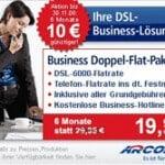 Business Internet: Arcor 6000 Business Doppel-Flat-Paket