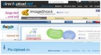 Kostenloser Bilder-Upload: 5 Anbieter ohne Anmeldung