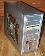 Ebay-Auktion für Computer Komplettsystem