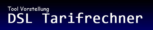DSL Tarifrechner Online