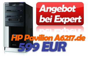 Expert HP Pavilion A6217.de Angebot