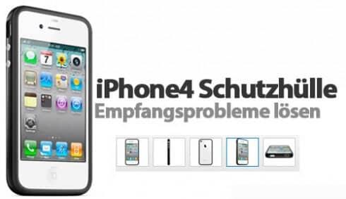 Apple vertröstet iPhone4-Käufer mit kostenloser Schutzhülle