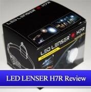 LED Lenser H7R Testbericht - Die Kopflampe zum Joggen