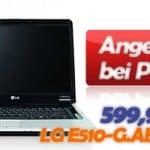 Plus Notebook LG E510-G.ABMBG Angebot für 599,95 EUR