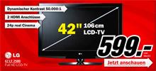 Media Markt München feiert weltgrößte Neueröffnung mit LG 42 LF 2500