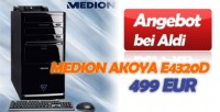 Medion Akoya E4320D Multimedia-PC Testbericht (Aldi-Angebot)