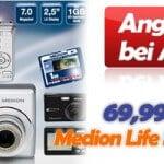 Aldi Medion Life E41000 Digital-Kamera 69,99 EUR Angebot