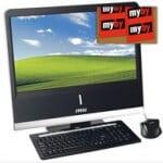 MSI NetOn AP1900 XPH – PC im Monitor für 499 EUR