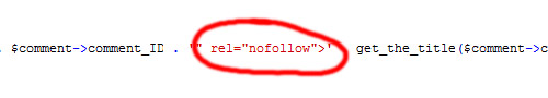 Wordpress 2.7.1 und Problem mit Plugin Nofollow Case by Case
