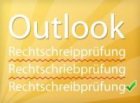Outlook Rechtschreibprüfung aktivieren und deaktivieren