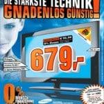 Saturn: Samsung LE-37 A55OP 37″ LCD-TV für 679 EUR – Meinungen