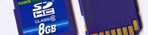 SD/SDHC Speicherkarte günstig im Internet
