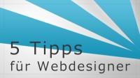 5 Tipps um schneller eine Webseite zu erstellen