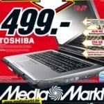 Media Markt: Toshiba Satellite L300-1CM Notebook für 499 EUR – Meinungen