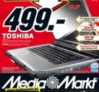 Media Markt: Toshiba Satellite L300-1CM Notebook für 499 EUR - Meinungen