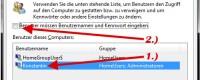 Windows 7 automatisch anmelden ohne Kennwort einzugeben
