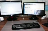 2 Monitore an einem PC anschließen