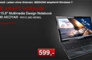 Aldi: MEDION P5612 (MD98390) Multimedia Notebook für 599 EUR