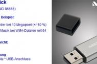 Aldi: 8 GB USB-Stick – Medion P89058 (MD 86666)