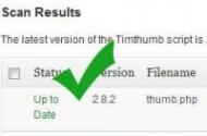 Veraltete Timthumb-Dateien im WordPress-Blog finden mit einem Plugin