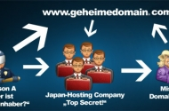 Anonyme Domain und Anonymer Webspace