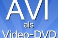 AVI als Video-DVD brennen