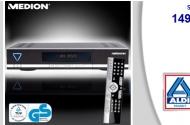 Aldi: Medion P24200 Festplatten-Satelliten-Receiver für 149 Euro