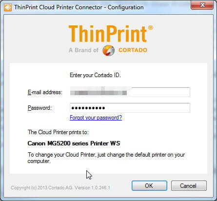 Thinprint Connector
