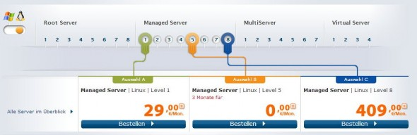 Strato Managed Server