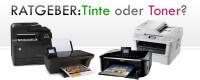 Ratgeber: Laserdrucker oder Tintenstrahldrucker - Was ist sinnvoller?