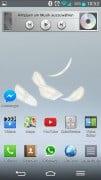 Android Live-Hintergrund mit Federn