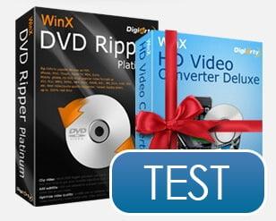 WinX DVD Ripper Platinum im Test: DVDs rippen ist kinderleicht