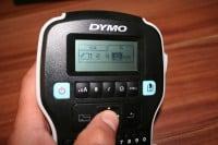 2.) DYMO Etikettengröße wählen