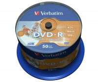 bedruckbarer DVD-Rohling von Verbatim