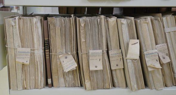 Lagerung Papiere