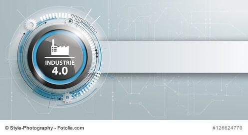 Industrie 4.0 Header mit Banner