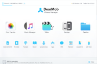 DearMob iPhone Manager: Alternative zu iTunes beim Sync von iPhones